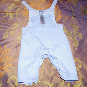 Jacadi Blue insulated Rompers 6 M